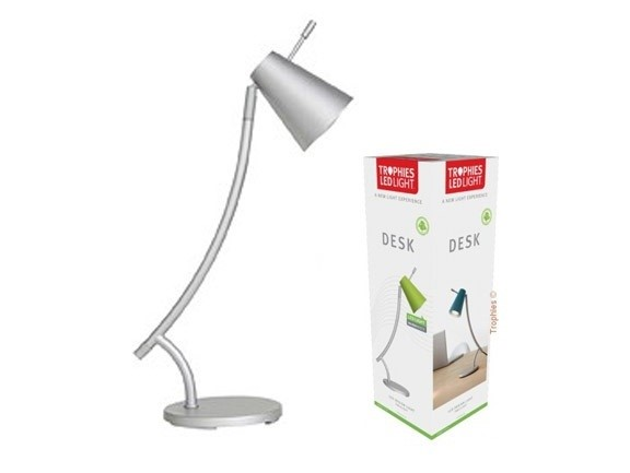 "Trophies | LED bureaulamp ""Desk"" zilver"
