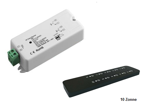 LED RF 10 zone dimmers