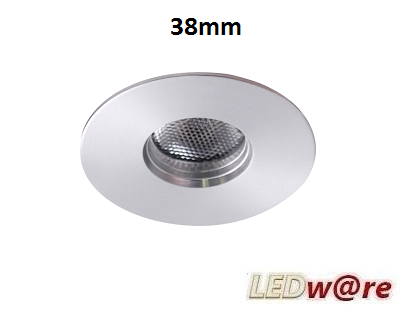 LED spots inbouwmaat 38mm