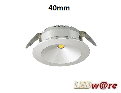 LED spots inbouwmaat 40mm
