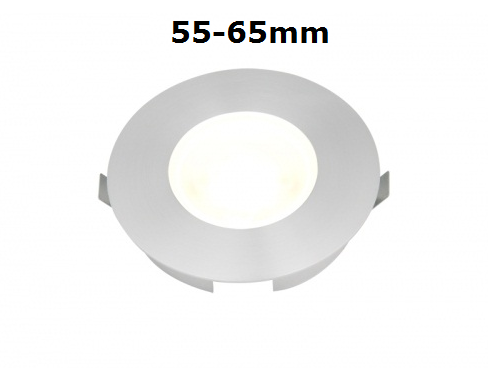 LED spots inbouwmaat 55-65 mm