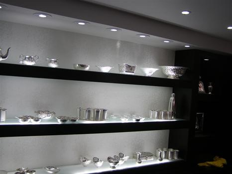 Vitrine LED vervangers