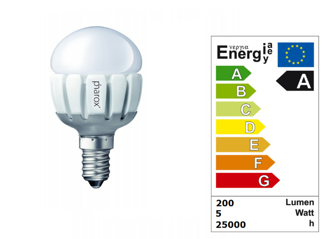 LED Lamp | 230V | 5W | VV 24-40W | Warm Wit | E14