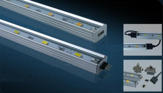 Alu strip | 12V | 9W | 15 LEDs | Warm Wit | 0,5