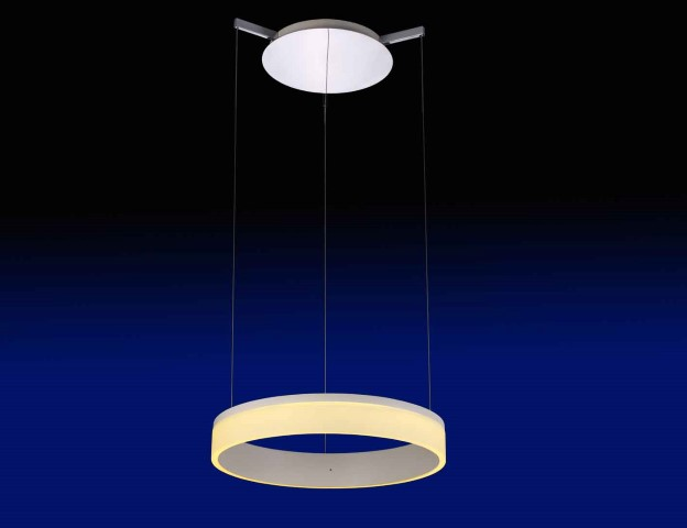 LED Hanglamp | 50.5 x 15.5 x 50.5 | Disc One 50