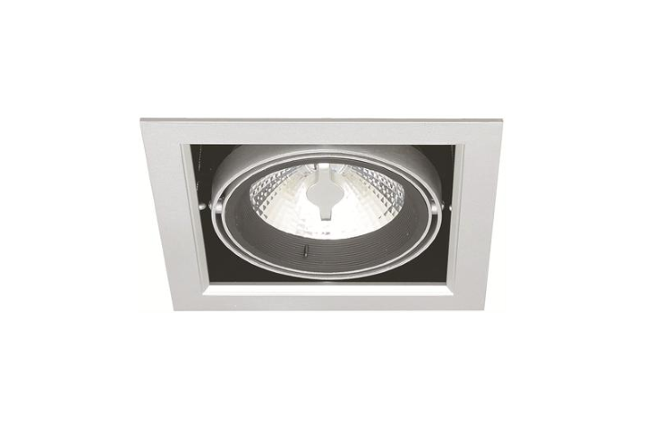 Enkel LED Downlight | 220V | 10W | Warm Wit | 175 x 175 | MD-250