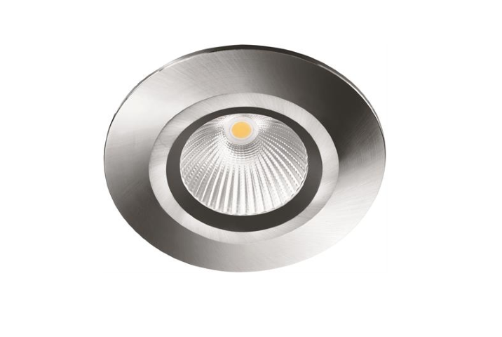 Malmbergs | MD-825VAST | LED inbouwspot | 1 LED spots | 280Lm | 4,5W | RVS