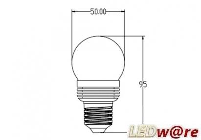 lang smal lampe
