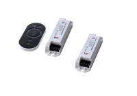 LED Dimmer | 2 Controller | 2 x 6A | 144 / 260W | met RF Afstandsbediening