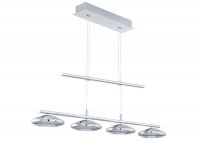Eglo | Chrome LED Hanglamp | 4 x 4,5W | TARUGO