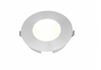 LED inbouwspot | 1 LED | Rond | 3W | 700mA | VV 15W | Warm Wit