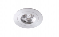 LED inbouwspot | 3 LED | Rond | 9W | 700mA | Warm Wit