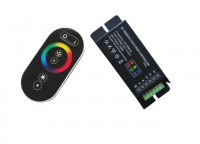 APPLE Control | Black | RGB LED Controller | 3 x 72W | 12-24