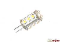 LED steeklampje | 12V | 2W | VV 15W | Warm Wit | G4 | 130
