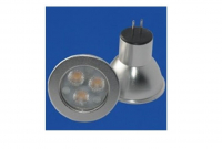 LED steeklampje | 12V | 3 LED | 3W | VV 20W | Extra Warm W