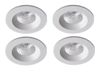 Robus | RC8WDLDWW-01 | LED inbouwspot | 4 LED spots | 575Lm | 4 x 8W | Wit