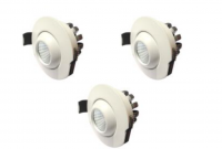 LED inbouwspot | 3 LED spots | 210Lm | Doe Het Zelf LED Kit | Warm Wit | D0308