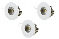 LED inbouwspot | 3 LED spots | 480Lm | Doe Het Zelf LED Kit | Warm Wit | LW2002