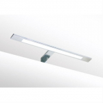 LED Spiegel / Kastverlichting set | 1 Lamp | 6W | Warm wit | 40cm | Chroom